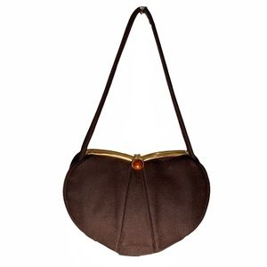 BAGS by JOSEF Vintage Cashmere Wool Evening Bag